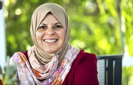 woman wearing the hijab