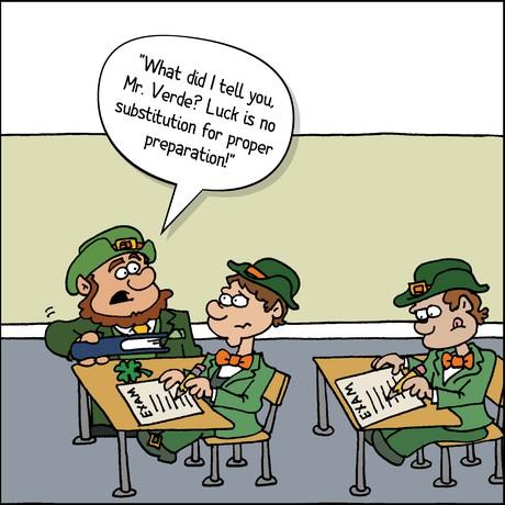 leprechauns in school