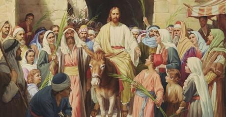Jesus's triumphal entry