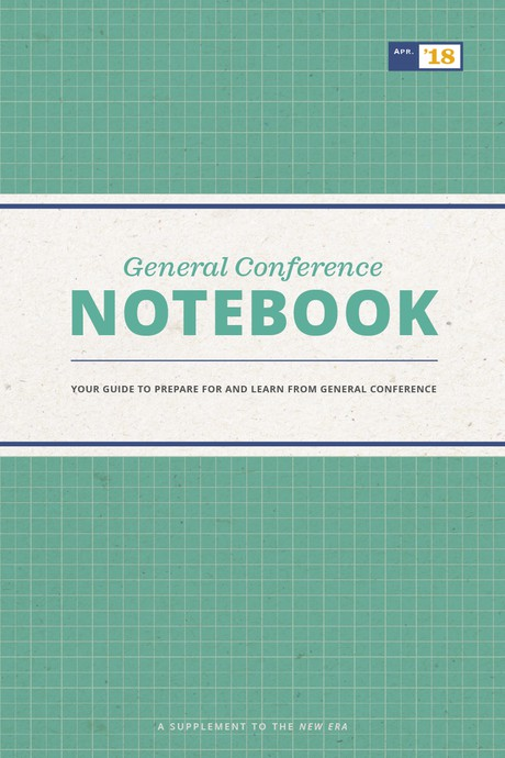 General Conference Notebook-booklet
