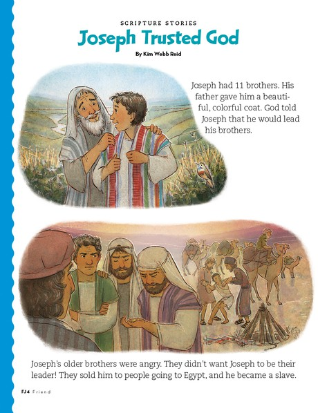 Joseph Trusted God, 1