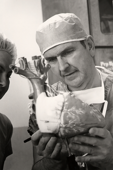 President Nelson as a surgeon