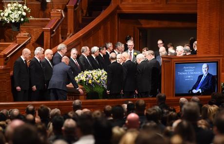 President Thomas S. Monson's funeral