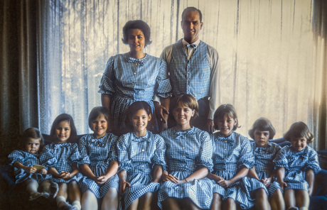 President and Sister Nelson and their daughters