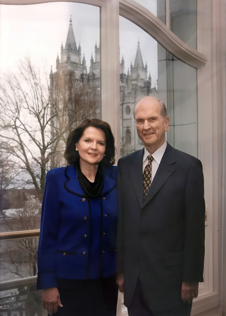 Wendy and Russell Nelson