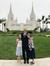 Familie Durrant am San-Diego-Kalifornien-Tempel