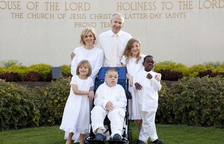 Brigham's family