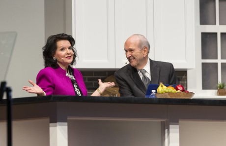 Russell M. Nelson with Wendy, his second wife