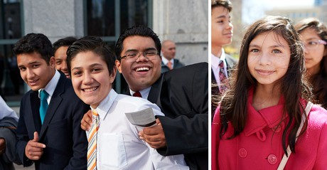 youth at general conference