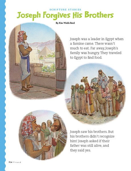 Joseph in Egypt, page 1