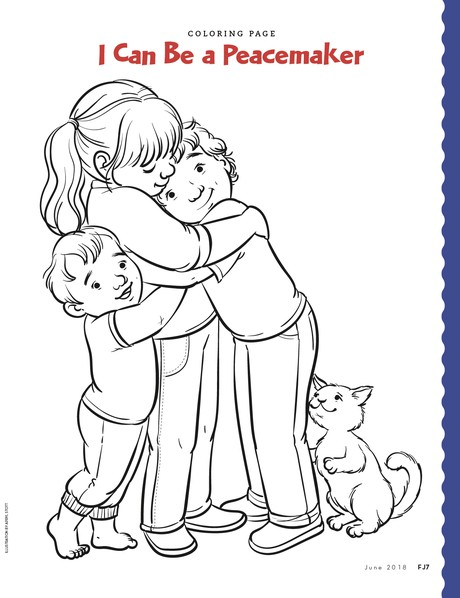 Coloring Page - friend