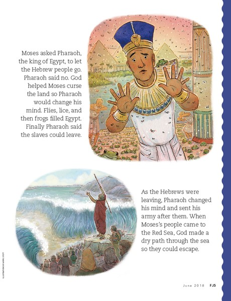 story of Moses, page 2