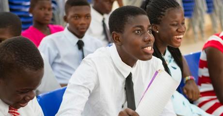 youth at church