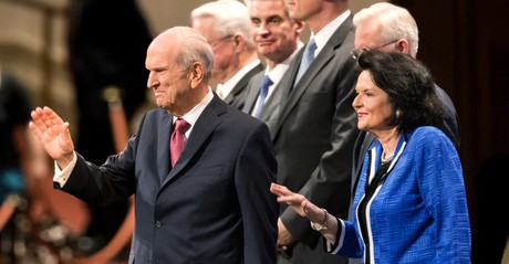 President and Sister Nelson