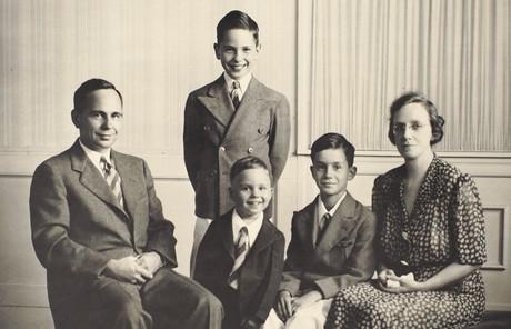 Eyring family photo