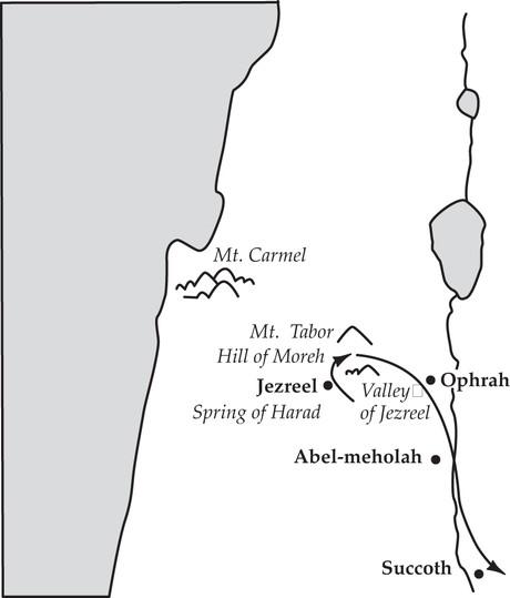 Gideon defeated midianite kings
