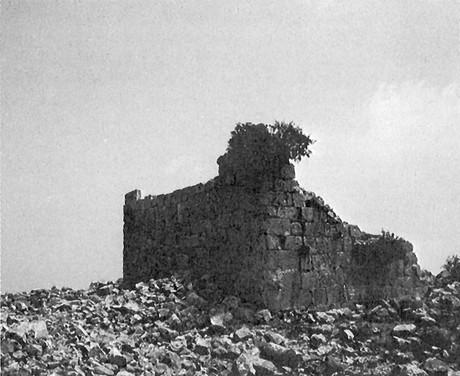 Ruins at ancient Bethel