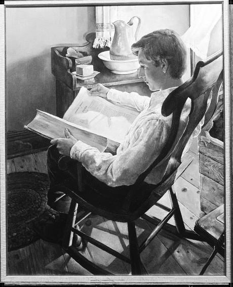 Joseph reading
