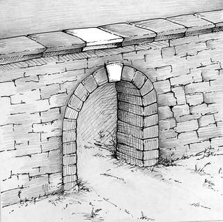 Pedra Angular em Um Muro