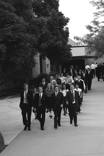 Missionaries at the MTC