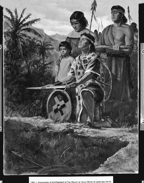 Anti-Nephi-Lehies burying swords
