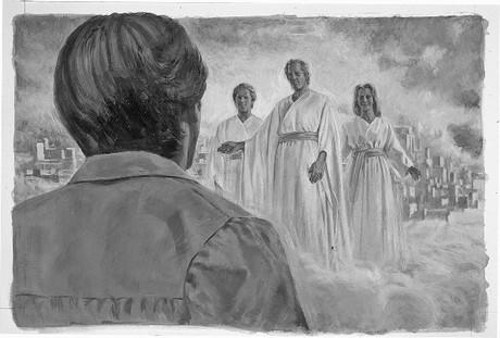 Prophet Joseph Smith's vision of celestial kingdom