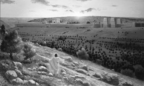 Christ lamenting Jerusalem