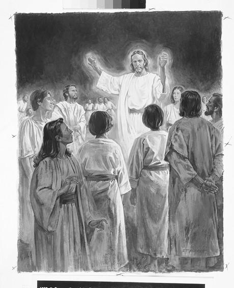 Christ preaching in spirit world