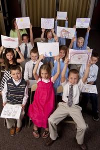 children participating
