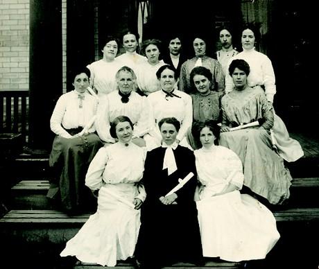 LDS Hospital nursing graduates, class of 1911