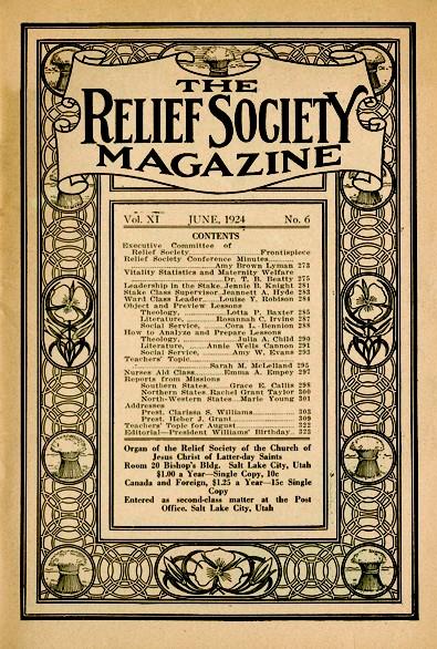 Relief Society Magazine